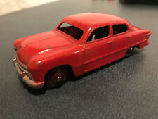 Dinky Toys Ford Sedan 139a Red Made in England Meccano Ltd. Red Hubs NICE PIECE!