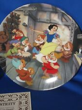 12 Bradford Exchange Disney Snow White Decorative Plates Knowles Complete Set