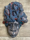 """Mask By John Offutt  1992 """"Heredity Hat""""Signed 4/100"""