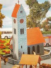 Faller H0 130238 Dorfkirche mit Friedhofsmauer in anderer Variante Bausatz NEU