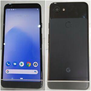 Google Pixel 3a XL- 64GB - Just Black (Unlocked) (Single SIM) Warranty