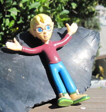 1994 Bend-Ems Just Toys Pagemaster Figure Richard with Arms Open Wide