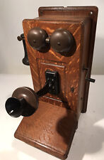 Antique Western Electric Hand Crank Wall Phone - 317R - Beautiful Telephone Oak
