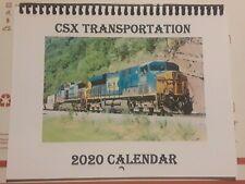 CSX Transportation Railroad 2020 Calendar