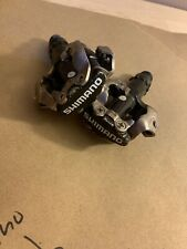 Shimano Pedals PD-M520 9/16 Clip Cleat Nice Good Condition Adjustable Bike Black