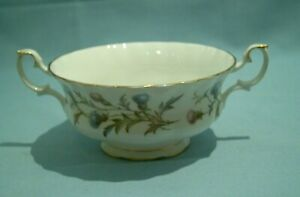 Royal Albert - Brigadoon - Soup Cup/Coup Handled Bowl - Used VGC 1st Quality