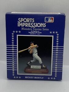 1990 Sports Impressions Mickey Mantle Yesterday's Stars Series Figurine