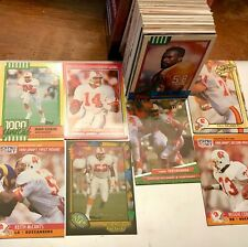 100 CARD LOT Of NFL TAMPA BAY BUCCANEERS Late 80's-Late 90's NO Duplicates