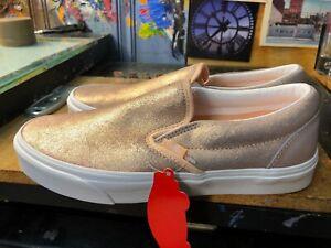 Vans Classic Slip On Rose Gold Metallic Size US 8.5 Men