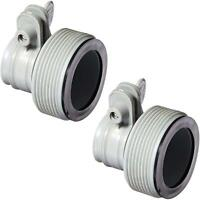 "2-PACK INTEX 1.25"" to 1.5"" Type B Hose Adapters for Pumps & Saltwater System"