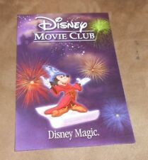Disney Magic 3D Lenticular Movie Club Collectors Mickey Mouse 5x7
