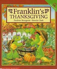Franklin's Thanksgiving Bourgeois, Paulette Paperback