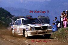 Walter Rohrl Opel Ascona 400 Acropolis Rally 1982 Photograph 5