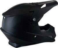 Z1R Rise Motorcycle MX ATV Helmet - Flat Black - All Sizes