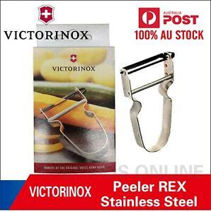 Victorinox Rex Vegetable Potato Peeler Stainless Steel Swiss Made Gift Boxed