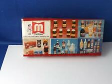 METRO FOOD STORE DISPLAY SAFETY BOX MATCHES MONTREAL VINTAGE ADVERTISING