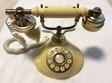 Princess Cameo Telephone Vintage French Victorian Style Push-Button * Works*