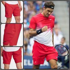 "Nike Court Flex Ace 9"" RF Federer Mens Tennis Shorts 854670-010 Sz XL"