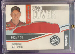2006 Dale Earnhardt Jr Under Cover Race-Used Car Cover 362/400 Press Pass