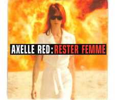 Axelle Red - Rester Femme - CDS - 1997 - Chanson Pop 3TR cardsleeve