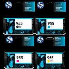 Set 4 Inks HP Genuine 955 L0S60AA L0S51AA L0S54AA L0S57AA For OFFICEJET PRO