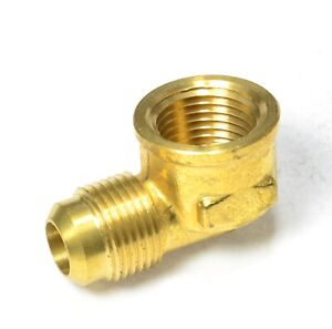1/2 Male Flare Sae 45 to 1/2 Female Npt L Elbow Fitting Natural Gas Propane Fuel
