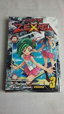 yugioh zexal manga comic books volume 3 no cards mint * FREE SHIPPING *