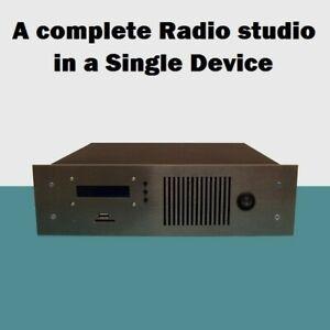 EMISORA FM BROADCAST RADIO STUDIO 88-108 MHz. 10 W