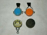 A Lot of 4 Vintage Bottle Caps Inc 3 x Kork N Seal Caps and Bakelite Cap