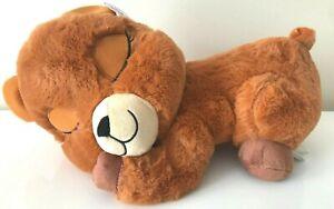 Large Sleepy Dozy Animal Plush 15 inches Long. Baby Bear Plush Toy. New