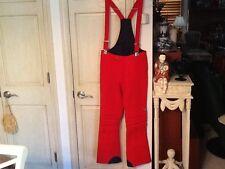 FILA RED Snowboarding Ski Snow Pants Sz 34x28 US Italy