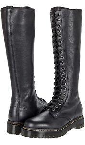 BNWB Dr. Doc Martens 1b60 Bex 7 Women's Black Pisa Leather