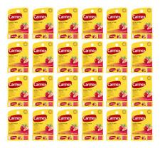 Carmex Strawberry Lip Balm Chapped Stick Moisturizer .15oz - 24 Pack (24 Tubes)