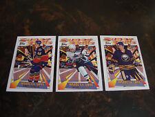 1995-96 Topps Super Skills Hockey---Platinum---Lot Of 3---#37-45-54