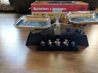 Vintage Geobra Play + Learn Toy Scale