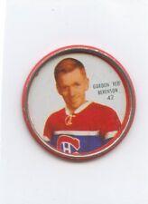 62-63 SHIRRIFF HOCKEY COIN #42 GORDON RED BERENSON CANADIENS