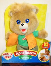 Teddy Ruxpin Hug 'N Sing Plush with Sound - Adventure Style Teddy