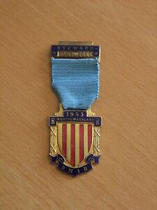 Royal Masonic Institute for Boys - Steward's Jewel 1953 RMIB
