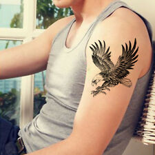Eagle Men Waterproof Temporary Tattoo Sticker Body Art Arm Shoulder Chest Women