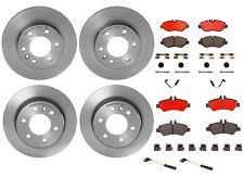 Brembo Front & Rear Brake Kit Disc Rotors Ceramic Pads Sensors For Dodge MB NCV3