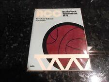 1975 ACC Tournament Program Autographed by Coach Frank McGuire