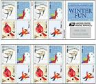 USPS Forever Postage Stamps Winter Fun Booklet of 20 NEW, Free Shipping