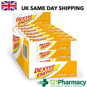 Dextro Energy DEXTROSE GLUCOSE FAST ACTING chewable Orange Tabs