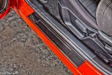 2015-2018 Mustang Carbon Fiber Pair Door Sill Plate