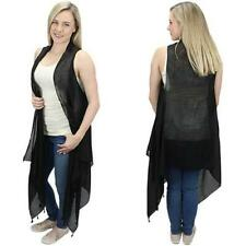 Black Vest with Tassels - One Size