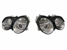 Pair Left & Right Genuine OEM New Hella Xenon Headlights Fits Mercedes CL Class