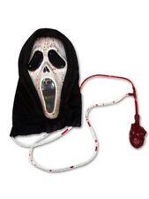 SANGRANTE MÁSCARA Terror Scream Disfraz Adulto Truco o trato Disfraz Halloween