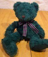 Russ FOREST THE GREEN TEDDY BEAR Plush Stuffed Animal