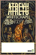 ATREYU | WHITECHAPEL | HE IS LEGEND 2019 Ltd Ed New RARE Tour Poster! Metal Rock