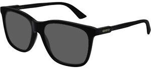 Gucci GG0495S Black/Grey 57/16/150 unisex Sunglasses